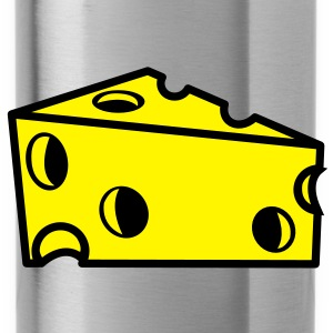 swiss cheese sliced with holes Tops - Water Bottle