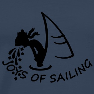 joys of sailing (1c) Tops - Men's Premium T-Shirt