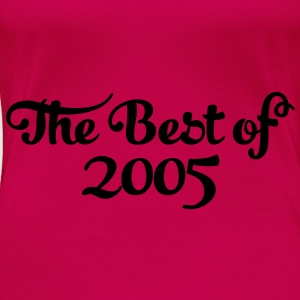 Geburtstag - Birthday - the best of 2005 (dk) Toppe - Dame premium T-shirt