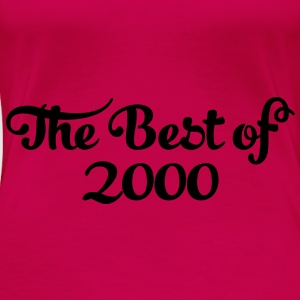 Geburtstag - Birthday - the best of 2000 (de) Tops - Frauen Premium T-Shirt