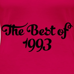 Geburtstag - Birthday - the best of 1993 (no) Topper - Premium T-skjorte for kvinner