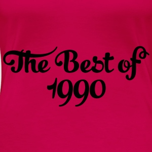 Geburtstag - Birthday - the best of 1990 (sv) Toppar - Premium-T-shirt dam