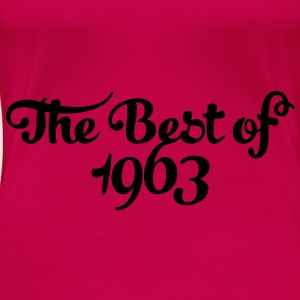 Geburtstag - Birthday - the best of 1963 (sv) Toppar - Premium-T-shirt dam