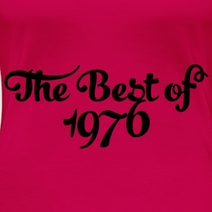 Geburtstag - Birthday - the best of 1976 (no) Topper - Premium T-skjorte for kvinner
