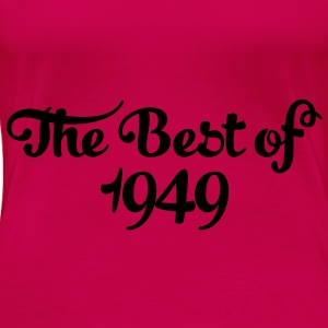 Geburtstag - Birthday - the best of 1949 (no) Topper - Premium T-skjorte for kvinner