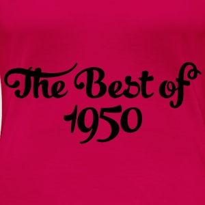 Geburtstag - Birthday - the best of 1950 (sv) Toppar - Premium-T-shirt dam