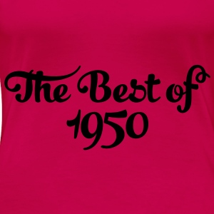 Geburtstag - Birthday - the best of 1950 (nl) Tops - Vrouwen Premium T-shirt