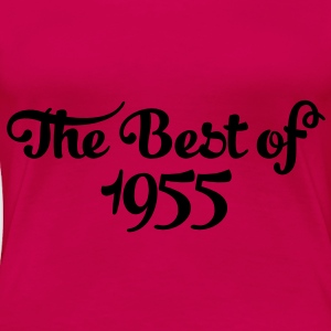 Geburtstag - Birthday - the best of 1955 (sv) Toppar - Premium-T-shirt dam