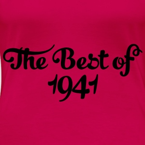 Geburtstag - Birthday - the best of 1941 (dk) Toppe - Dame premium T-shirt