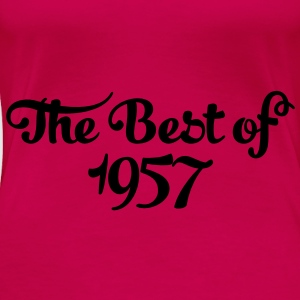 Geburtstag - Birthday - the best of 1957 (fr) Débardeurs - T-shirt Premium Femme