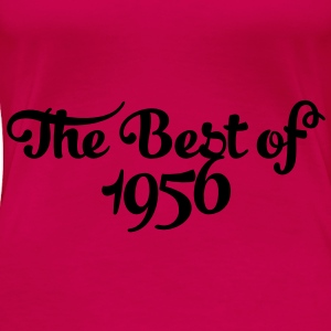 Geburtstag - Birthday - the best of 1956 (no) Topper - Premium T-skjorte for kvinner