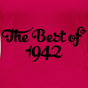 Geburtstag - Birthday - the best of 1942 (es) Tops - Camiseta premium mujer