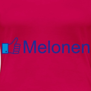 Like Melonen Tops - Frauen Premium T-Shirt