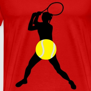 Tennis player, Tennis - Men's Premium T-Shirt