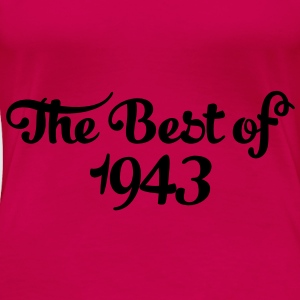 Geburtstag - Birthday - the best of 1943 (uk) Tops - Women's Premium T-Shirt