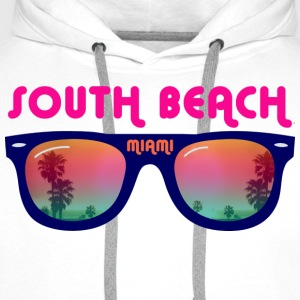 South Beach Miami Tops - Men's Premium Hoodie