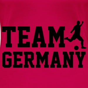 Team Germany Toppar - Premium-T-shirt dam