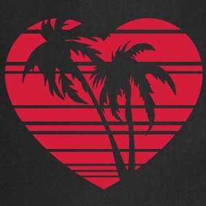 palm heart T-shirts - Förkläde