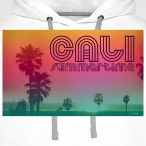 california summertime Topper - Premium hettegenser for menn