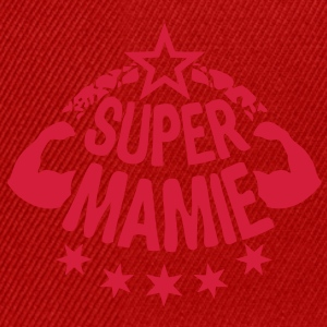 super mamie bras muscle stars1 Tee shirts - Casquette snapback