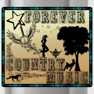 forever country music Tops - Water Bottle