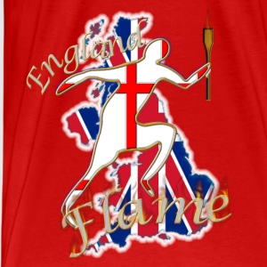 England Saint George UK running Tops - Men's Premium T-Shirt