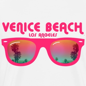 Venice Beach Los Angeles Topper - Premium T-skjorte for menn