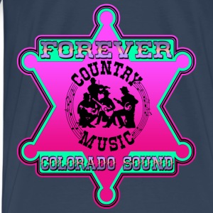 forever country music colorado sound Débardeurs - T-shirt Premium Homme
