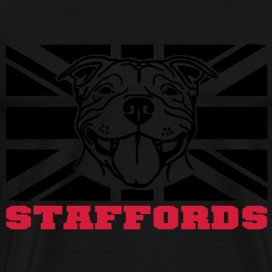 staffords smileflag3 Tops - Men's Premium T-Shirt