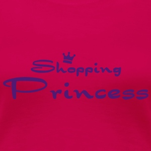 Shopping Princess Tops - Women's Premium T-Shirt