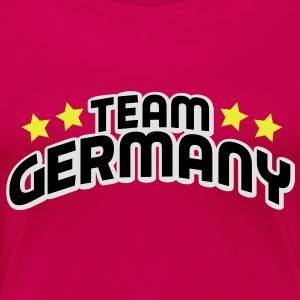 team germany Toppe - Dame premium T-shirt