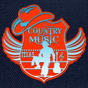 country music texas Tops - Snapback Cap