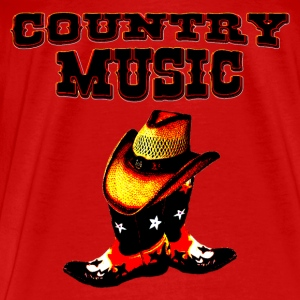country music Toppe - Herre premium T-shirt
