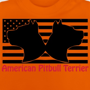a_pit_flag_2head_02 Kinder shirts - Baby T-shirt
