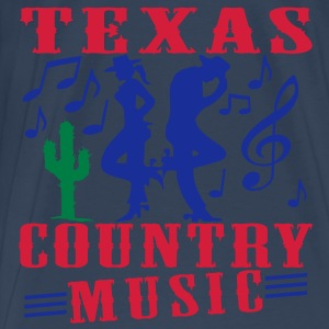 texas country music Tops - Men's Premium T-Shirt