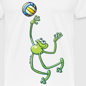 Olympic Volleyball Frog Tops - Men's Premium T-Shirt