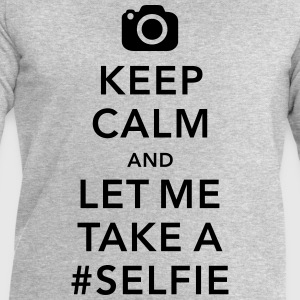 funny Keep calm take a selfie #selfie meme Tee shirts - Sweat-shirt Homme Stanley & Stella