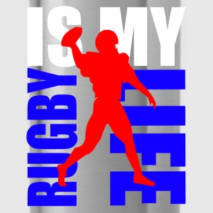 rugby is my life Toppe - Drikkeflaske