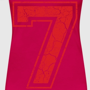 7_seven_sieben_red_rot (uk) Tops - Women's Premium T-Shirt