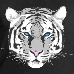 White Tiger Tops - Men's Sweatshirt by Stanley & Stella