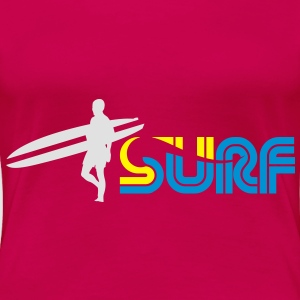 Surf Toppe - Dame premium T-shirt