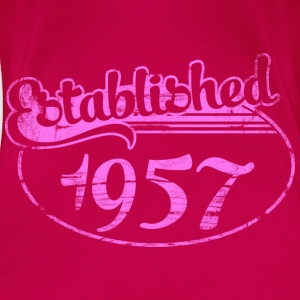 established 1957 dd (fr) Débardeurs - T-shirt Premium Femme