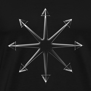 Chaos Star Glass (Shatter Reality) T-Shirts - Men's Premium T-Shirt