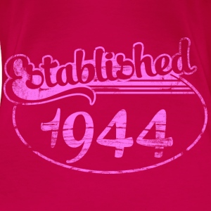 established 1944 dd (uk) Tops - Women's Premium T-Shirt