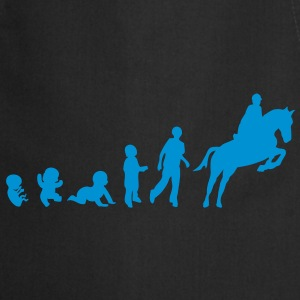 evolution equitation cheval1 obstacle sa Tee shirts - Tablier de cuisine