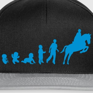 evolution equitation cheval1 obstacle sa Tee shirts - Casquette snapback