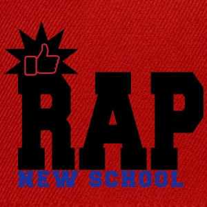 rap new school Tops - Snapback Cap