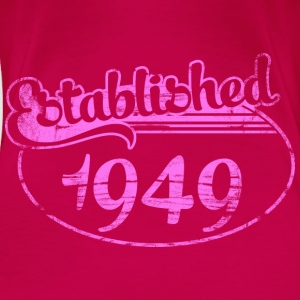 Geburtstag - established 1949 dd (de) Tops - Frauen Premium T-Shirt