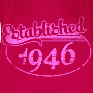 Geburtstag - established 1946 dd (de) Tops - Frauen Premium T-Shirt