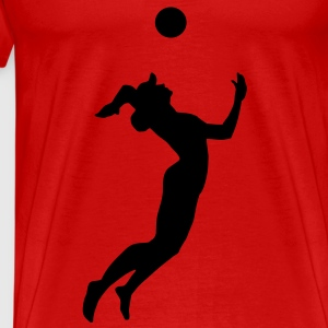 Volleyball, Beach Volleyball Tops - Men's Premium T-Shirt